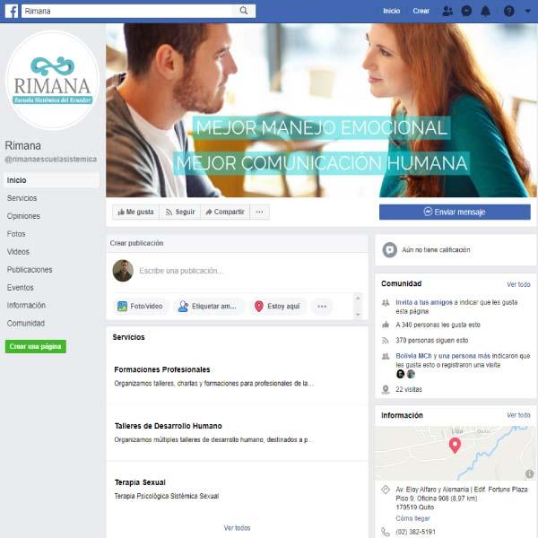 Marketing en perfil de Facebook con anuncios