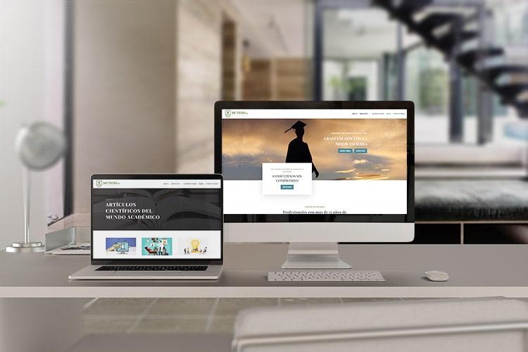 Sitio web de tesis y asesoría