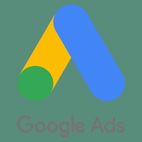 Logo de anuncios de búsqueda de Google Ads Adwords